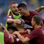 AS Roma menang. (okezone)