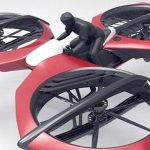 Motor terbang Tricopter (autoevolution)