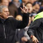 Jose Mourinho kesal diusir dari lapangan (mirror.co.uk)