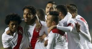 Peru menang atas Paraguay. (*)