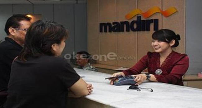 Pelayanan Bank Mandiri (okezone.com)