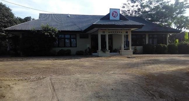 Suasanan di salah satu kantor di Mentawai. (ricky)