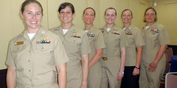 Enam perwira perempuan AS. (lenggogeni)
