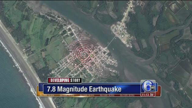 Gempa Ekuador. (*)