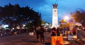 Kawasan Jam Gadang Bukittinggi (rahmat zikri)