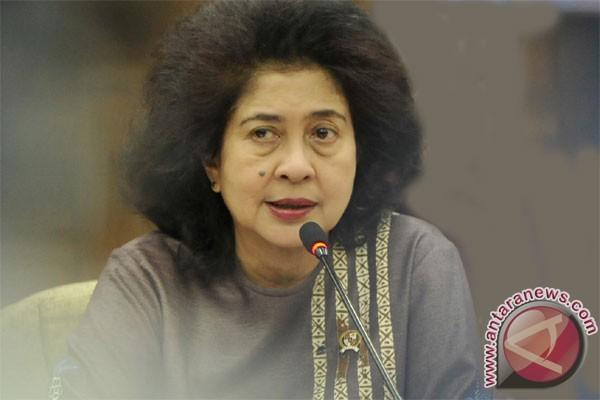 Menteri Kesehatan Nila F Moeloek (antara foto)
