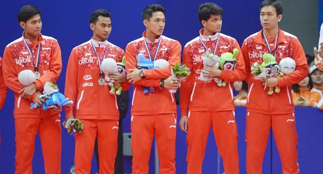 Tim Piala Thomas Indonesia (antara foto)