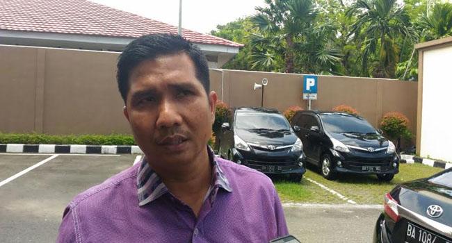 Ketua DPRD Padang Erisman. (*)