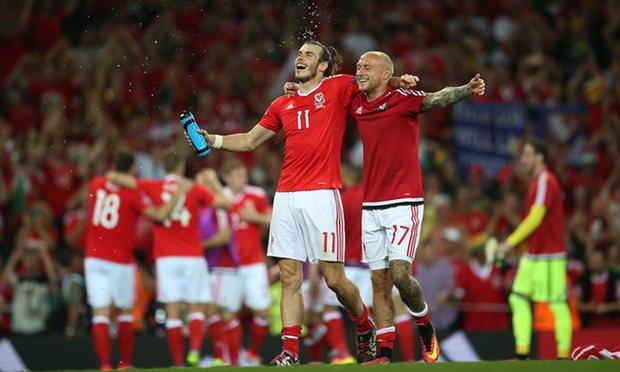 Wales menang 3-0 atas Rusia di pertandingan akhir. (*)
