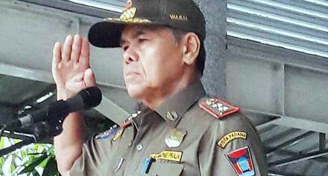 Wakil Walikota Padang Emzalmi. (*)