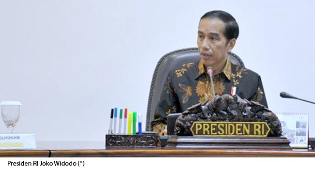 Presiden joko Widodo. (*)