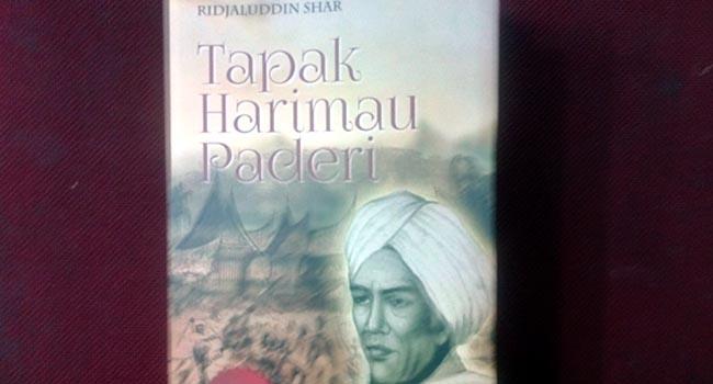Novel 'Tapak Harimau Paderi'