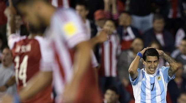 Argentina kalah 0-1 dari tamunya Paraguay. (net)