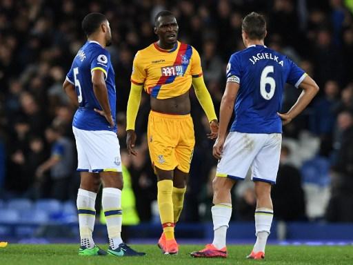 Crystal Palace vs Everton bermain imbang. (okezone)