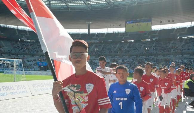 Tim Indonesia saat menghadapi Tunisia. (*)