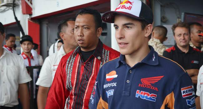 Marc Marquez (okezone)