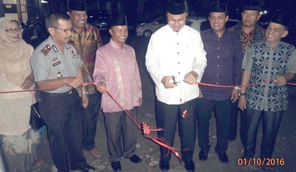 Wakil Bupati Agam saat peringatan tahun baru Hijriyah. (mursyidi)