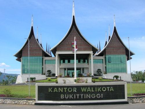 Kantor Walikota Bukittinggi. (*)
