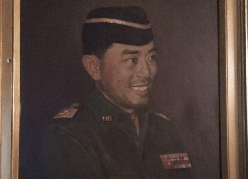 Lukisan Jenderal Ahmad Yani (foto: Tentry/Okezone)