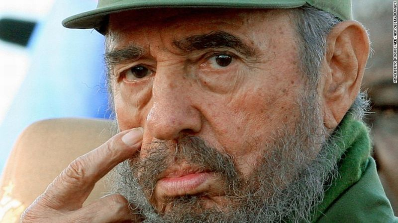 Mantan Presiden Kuba Fidel Castro. (Foto: CNN)