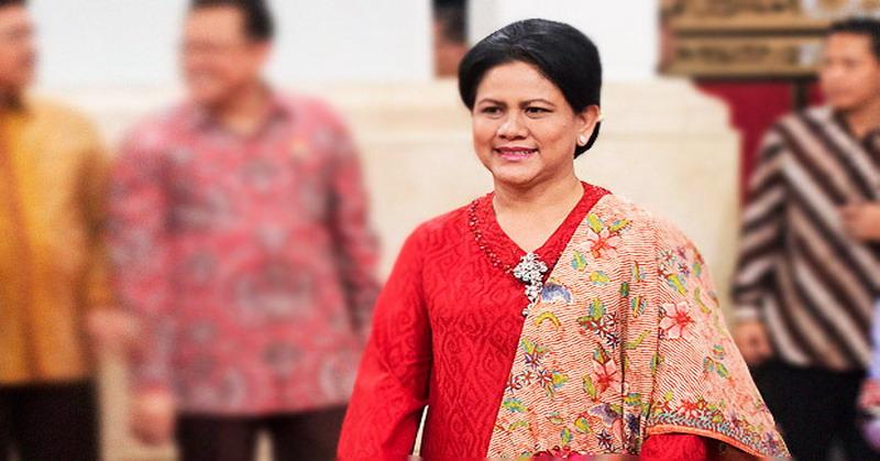 Ibu Negara Ny. Iriana Joko Widodo. (okezone)