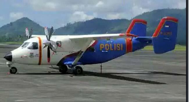 Pesawat Polri (okezone)