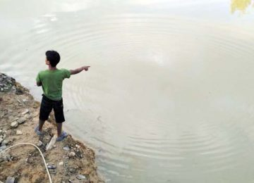 Lokasi korban tenggelam (oky alhadi)