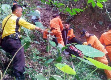 Proses evakuasi korban (rusmel)