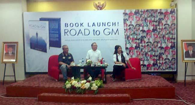Peluncuran buku 'Road to GM' (ist)