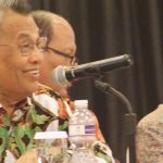 Ketua Kopus Sumbar, H.  Basril Djabar bersama Sekretaris Marlis