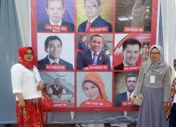 Sejumlah alumni SMA Lambah, Agam (ist)