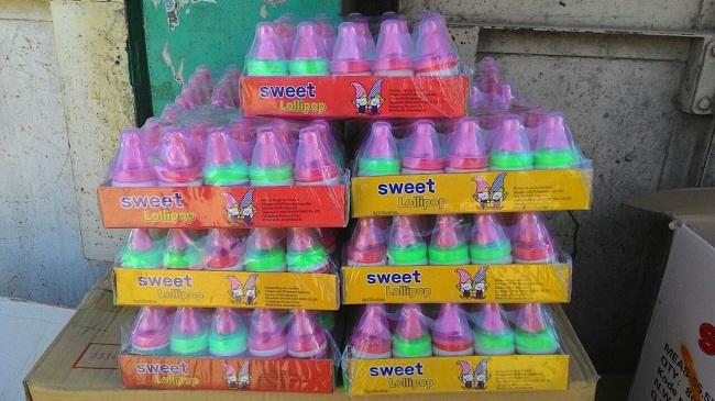 Permen sweet lolypop. (*)
