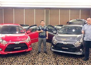 Peluncuran New Agya di Padang (deri)