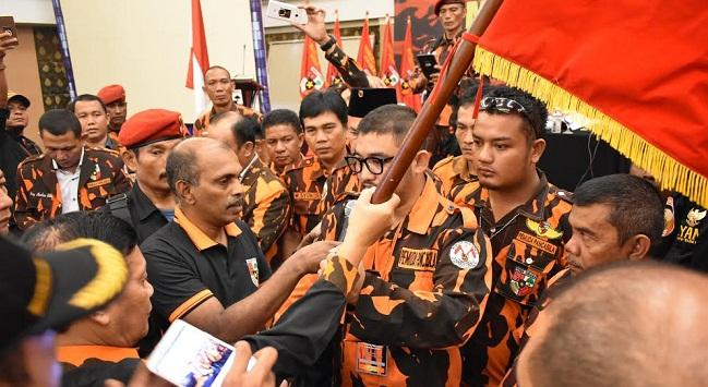 Eric Hariyona Ketua MPW Pemuda Pancasila Sumbar. (*)