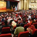 Peserta tengah mengikuti kegiatan simulasi SBMPTN 2017 di Yogyakarta, Sabtu (22/4). (*)