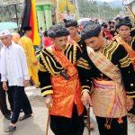 Prosesi pelewakan 16 datuk di Supayang, Tanah Datar (musriadi)