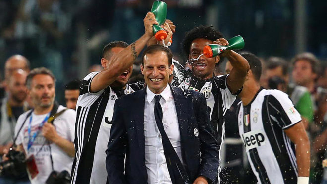 Juventus juara Coppa Italia. (*)