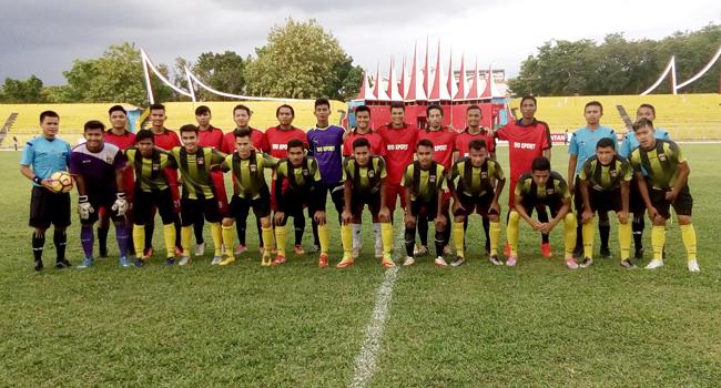 Skuad PSP U-23 dan Rajawali (dede amri)
