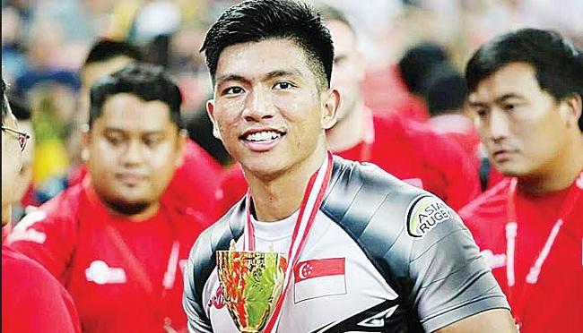Marah Ishraf Hoessein Kapten Tim Rugbi asal Barung-Barung Balantai, Pesisir Selatan. (ist)