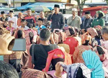 Aksi unjukrasa sejumlah warga dan tokoh masyarakat Kota Solok (oky alhadi)