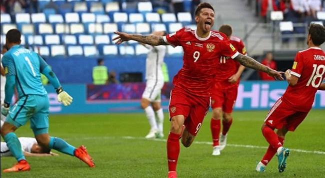 Rusia menang 2-0 atasSelandia Baru. (indosport)