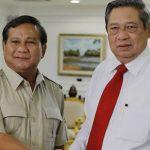 Prabowo Subianto dan Susilo Bambang Yudhoyono (net)