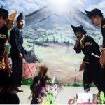 Salah satu adegan dalam sandiwara Limpapeh Rumah Nan Gadang. (*)