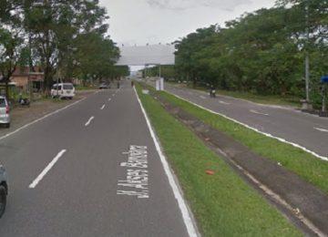 Jalanke Bandara Internasional Minangkabau. (google)