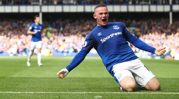 Wayne Rooney. (*)