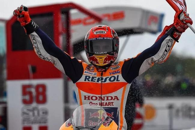 Marc Marquez (Twitter Repsol Honda)