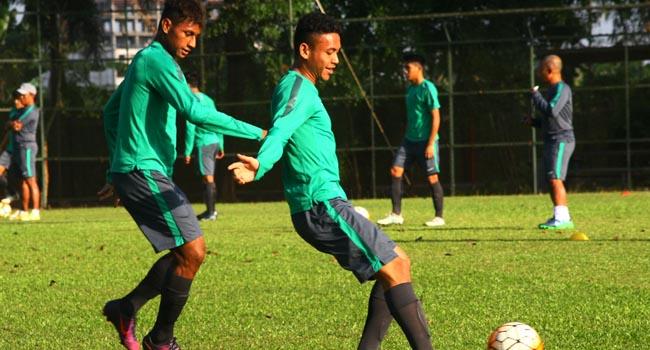 Latihan skuad Timnas U-19 (antara foto)