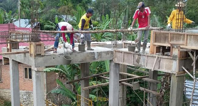 IASMA 1 Landbouw  bangun masjid untuk masyarakat. (*)