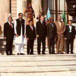 Wapres Jusuf Kalla bersama pemimpin-pemimpin negara D-8 (ist)