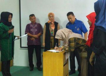 Humas Pemerintah Provinsi Sumbar menjalin kerjasama dengan pers kampus. (*)